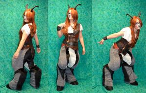 Steampunk Faun by temperance