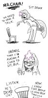 Octo and Mr. Chair by Nintendo-Nut1
