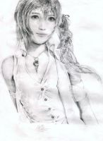 Serah Farron drawing by baddassmatt