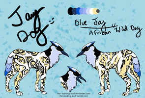 Jay Dog .:Contest Entry by The--Working-Wulf