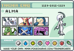 Alma's Trainer Card by Cuixilfer