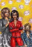Hannibal - Alana and the Vergers by FuriarossaAndMimma