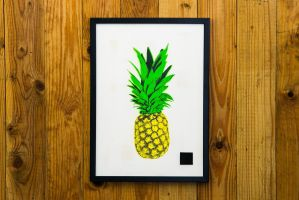 Pineapple Edition I by I-Print-Pineapples