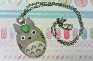 Totoro Necklace by Lord-Ackbar