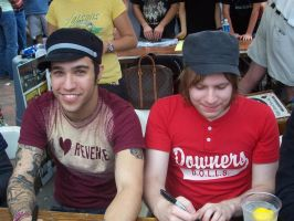 Pete Wentz and Patrick Stump by R-Clandestin