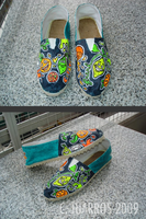 citrus shoes by TheLaaarch