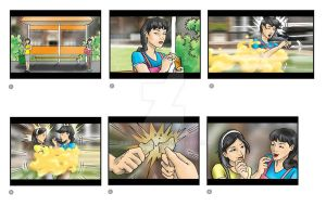 biscuit tvc storyboard 1 by tararojing