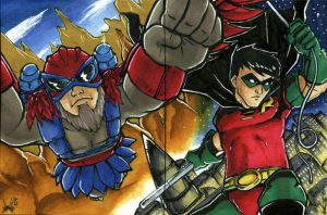 Stratos and Robin - PSC by Marker-Mistress