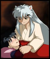 Inuyasha bein' a sweetie by nalina