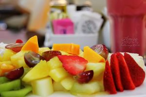 Fruit salad in Marina mall Abu Dhabi 2 by amirajuli