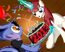 Happy Birthday to Us! -  2013 by Frist44