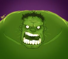 Hulk Smash by paulorocker