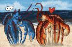 Coconut Crabs by FrOoTcAkE