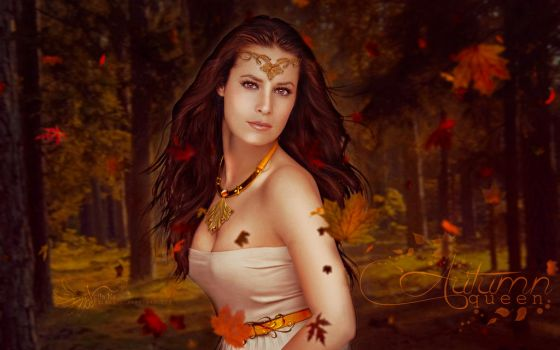 Autumn Queen by VeilaKs