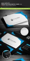 Creative Business Card - 2 - Template [PSD] by Ja-Ghraphics