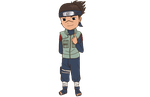 Iruka Chibi (commission) by animelover4343
