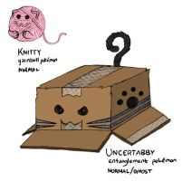 UNCERTABBY - Normal/Ghost Pokemon Idea by SomethingSyndicated