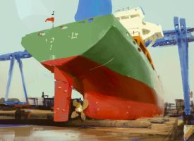 Ship study1 by etwoo