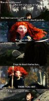 Merida VS Hiccup! by jellybreaker