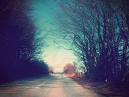A beautiful drive home by lucyparryphotography
