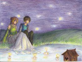 :Candlelight: Zutara Day 6 by teires