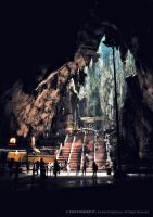 Batu Caves - Natural Light by reubenteo