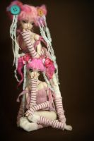 Cotton Candy Sugar and Spice by Forgotten Hearts by FHdolls
