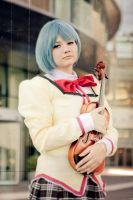 Madoka Magica: Would You Play For Me Oneday? by Ocean-san