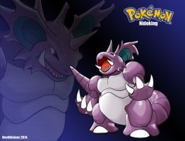 Nidoking final by Deathlici0us-X