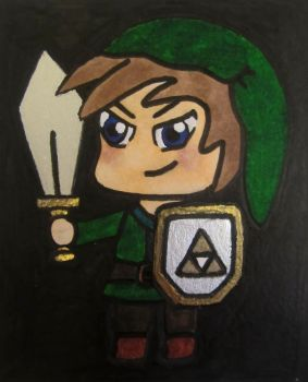 Chibi Link by seraphima531