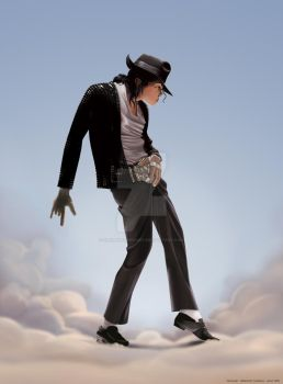 Michael Jackson in Paradise by clementmeriguet