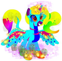 Princess Rainboom Artstar by Discordiscoolio
