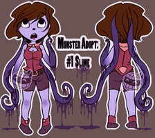 Monster Adopt#1:OPEN:Now with Speedpaint! by Crickettle