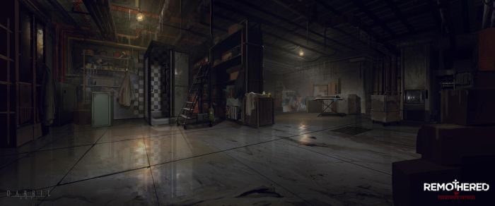 REMOTHERED: Tormented Fathers - Cellar (Concept) by Chris-Darril