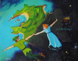 Straight on 'Till Morning - Secret Santa by masterrussia