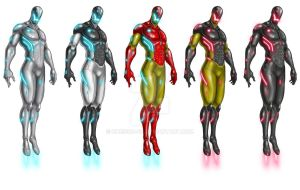 Ultron Costumes by chrisco-cc