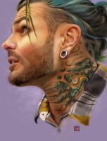 Jeff Hardy by claudiall