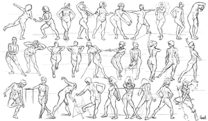 251 Figure Studies by Skence