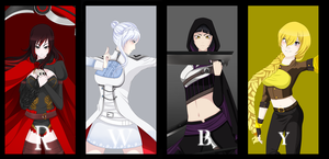 Future RWBY by ButterflyBlueLady