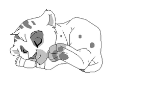 Sleeping cub base by kopaisfluffy
