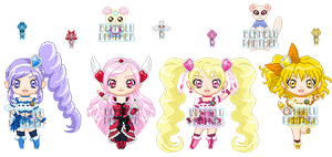 ChibiP: Fresh Pretty Cure by blknblupanther