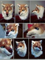 Wolf/Husky head: SOLD by yeep-yeep