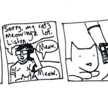 cat comix by MANeatingCLOTHES