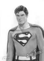Christopher Reeve by Zigno