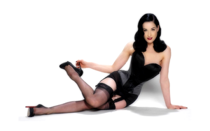 Dita Von Teese wallpaper by Sugar-spell-it-outt