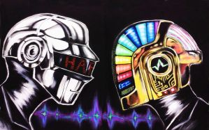 Daft Punk Duo by King-Kandie
