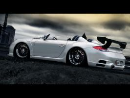 Porshe Cayman GTR Speeder by themjdesign