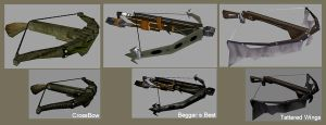 Weapon Textures - Crossbows by BlueSerenity