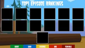 TDPI Episode Rankings Template by air30002