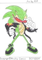 Scourge the Hedgehog by BoomSonic514